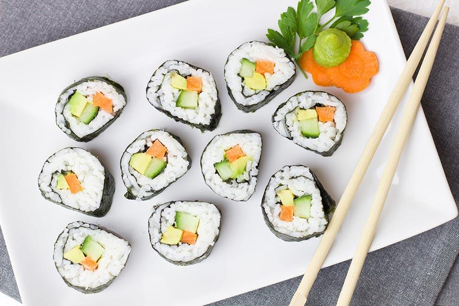 Sushi bei REWE in Meckenbeuren