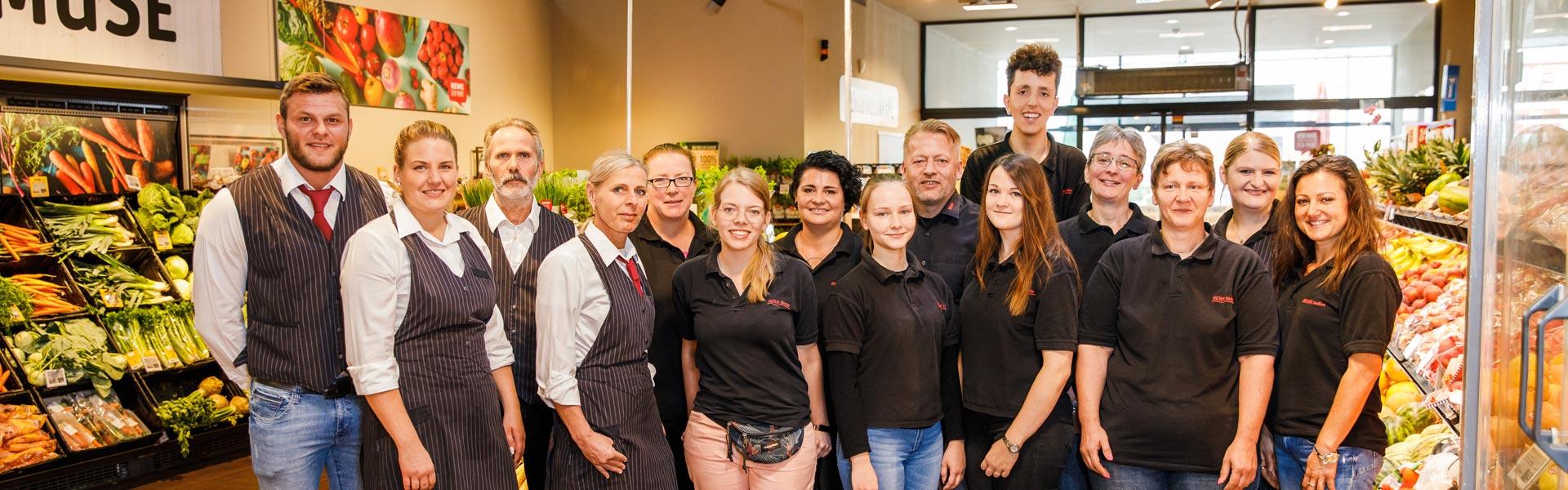 Das Team bei von REWE Nadler